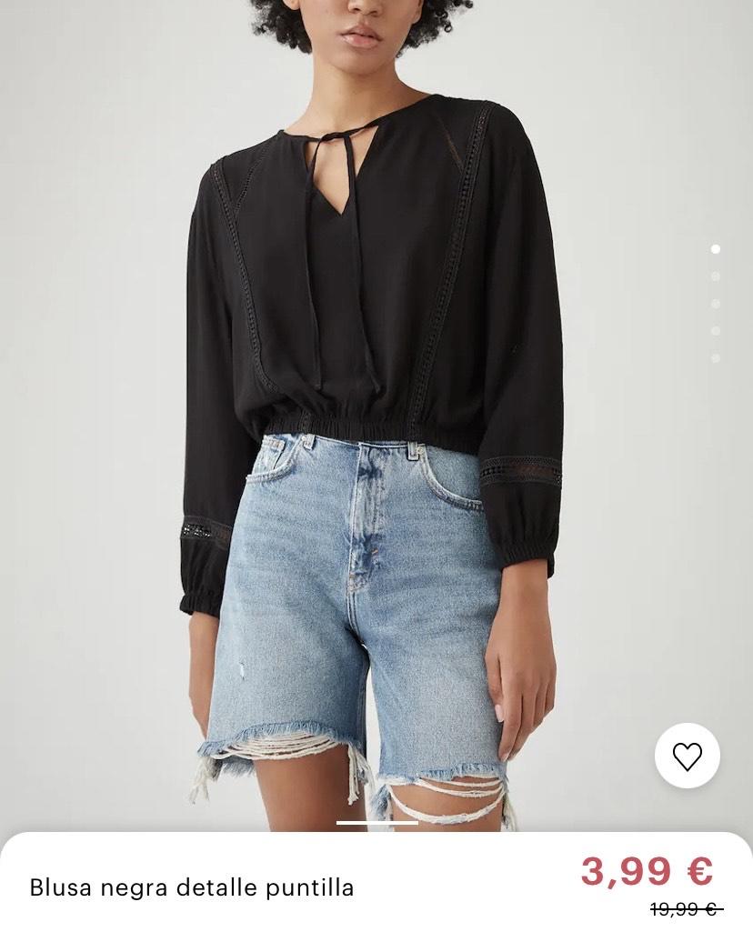 Camisas y tops 3,99€