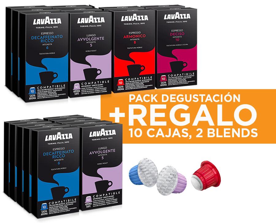 20 cajas de cápsulas Lavazza (comp. con Nespresso) por 30€