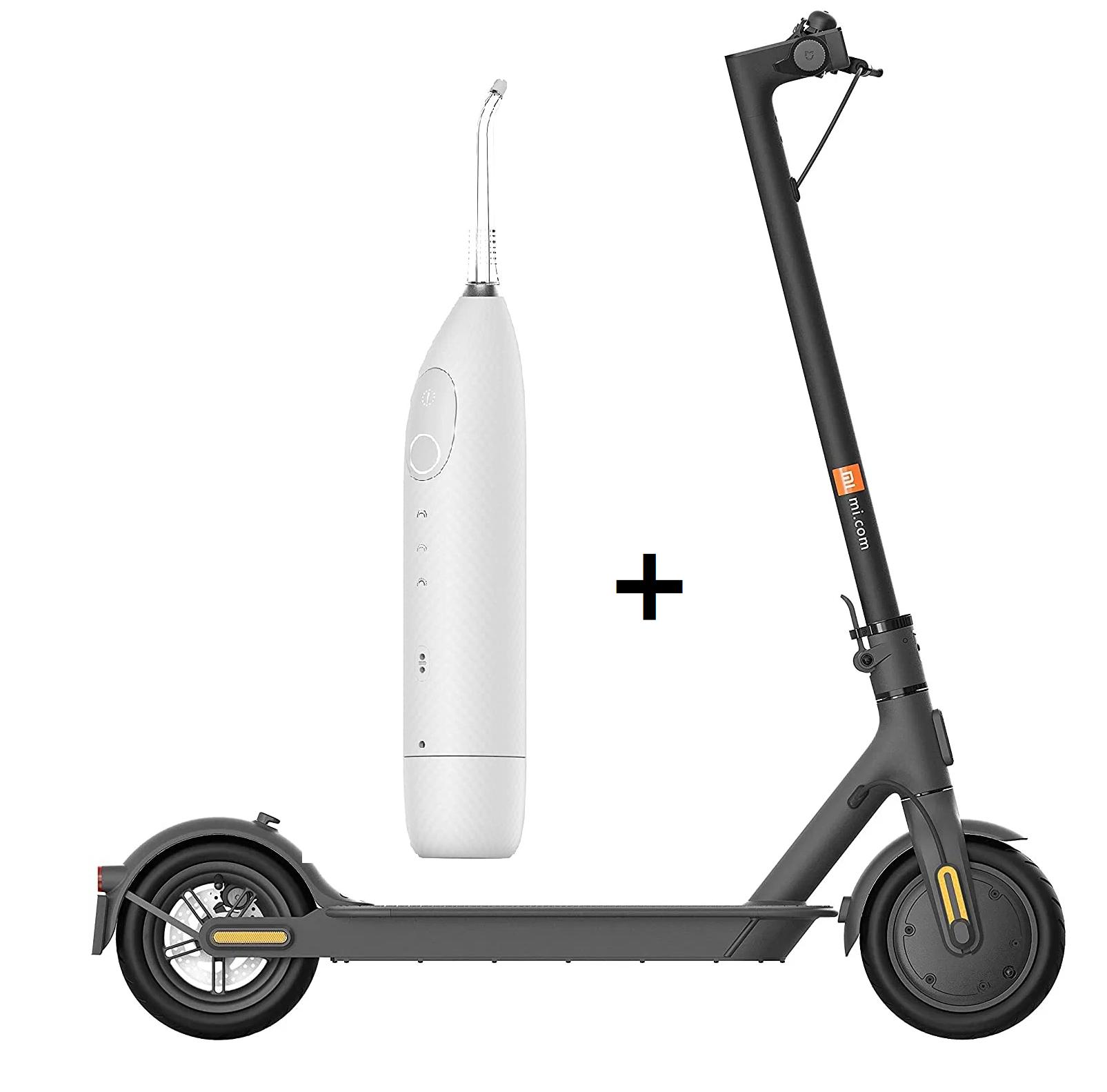 Xiaomi Scooter 1S +Irrigador Oclean W1 solo 279€ (desde Europa)