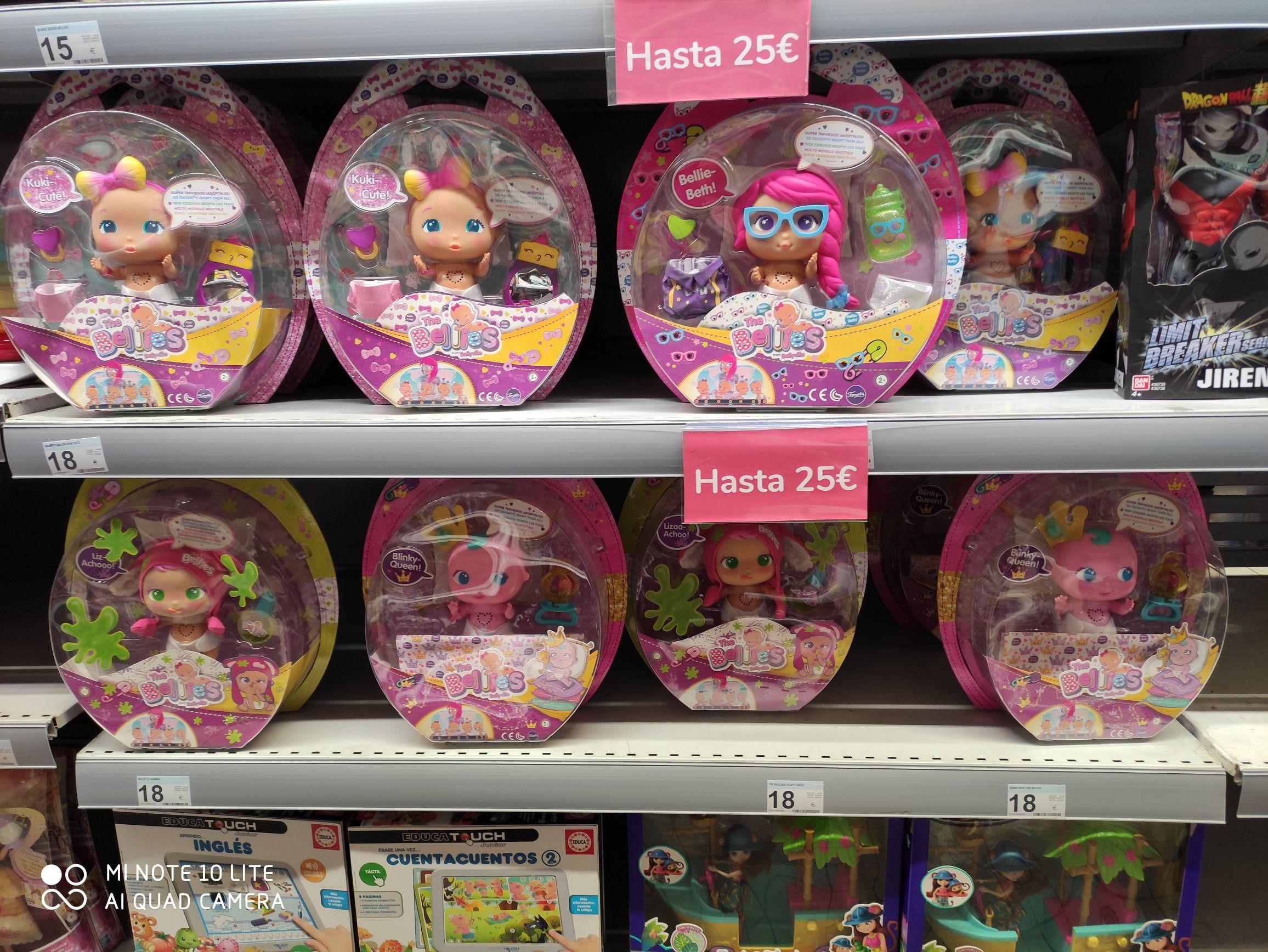 Bellies muñecas en oferta en Carrefour (Carrefour de Getafe Bulevares)