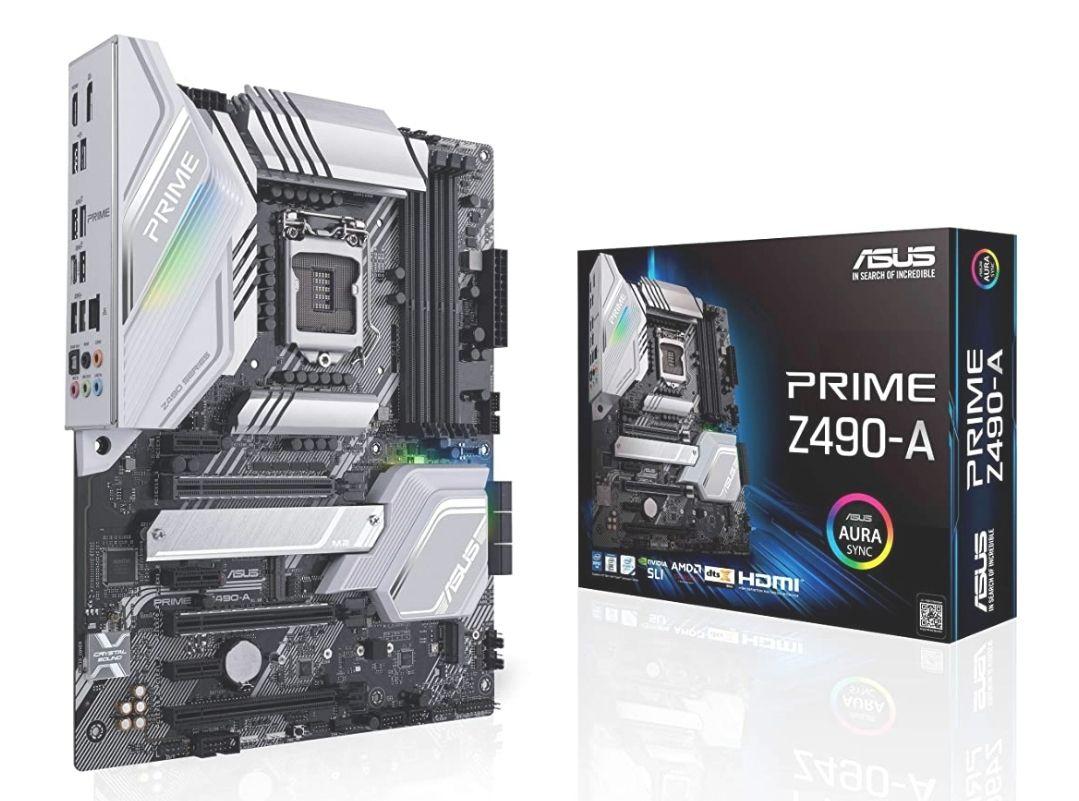 ASUS Prime Z490-A - Placa Base ATX Intel de 10a Gen LGA 1200
