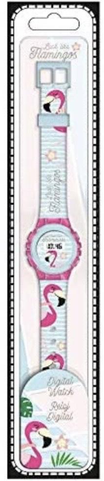 Reloj Digital de Flamencos