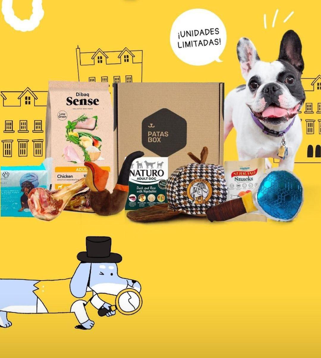 50% de descuento en PatasBox DOG HOLMES