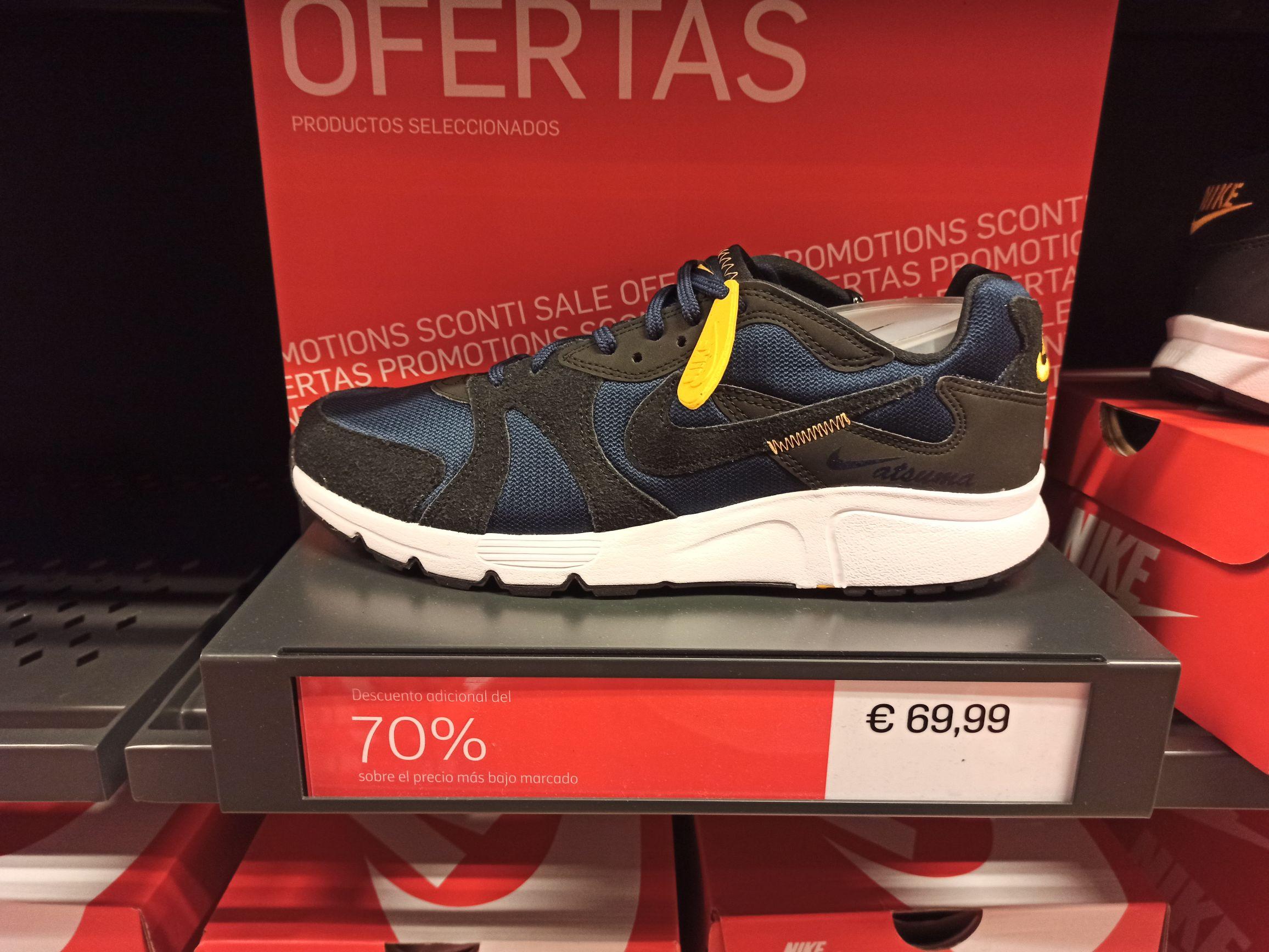 Zapatillas Nike Atsuma (Outlet Rivas Vaciamadrid)