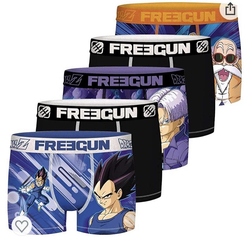 Freegun Bóxer para Hombre (pack de 5) talla M