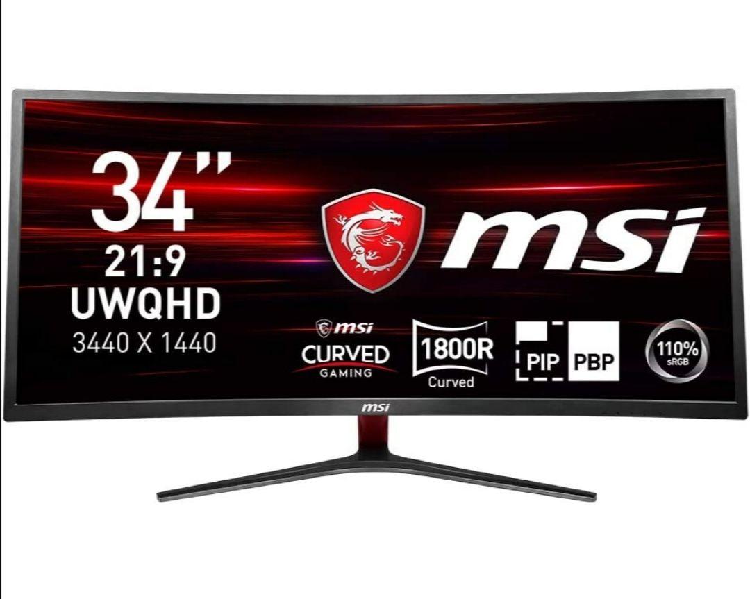 """MSI Optix MAG341CQ - Monitor Gaming Curvo de 34"""""""
