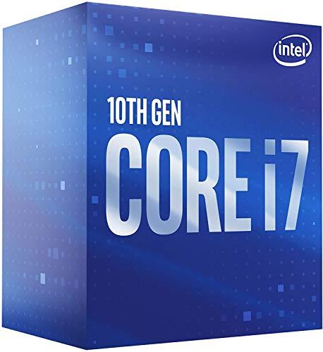 Intel Core i7-10700 - Procesador (2,90 GHz; Casquillo LGA1200; Caja de 65 W)