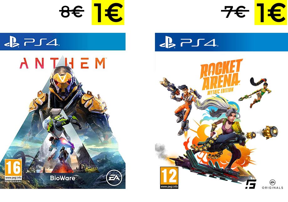 Anthem para PS4 y PC solo 1€