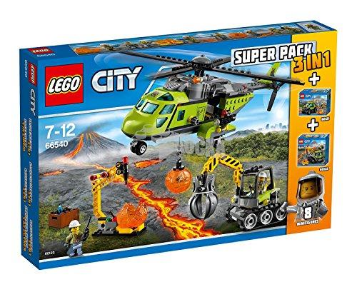 LEGO 66540 Vulcano City - Super Pack 3 en 1 Volcano** REACONDICIONADO**