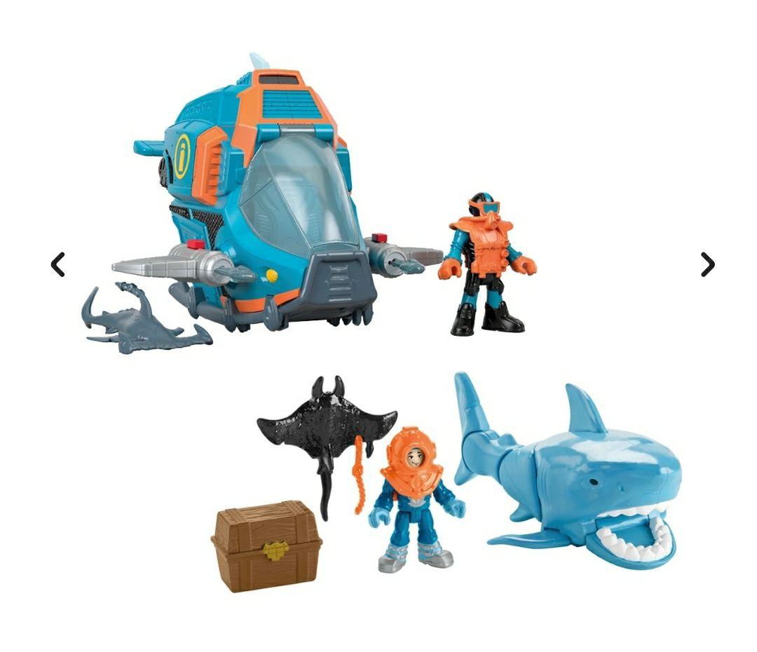Fisher-Price Imaginext pack de figuras de buceo
