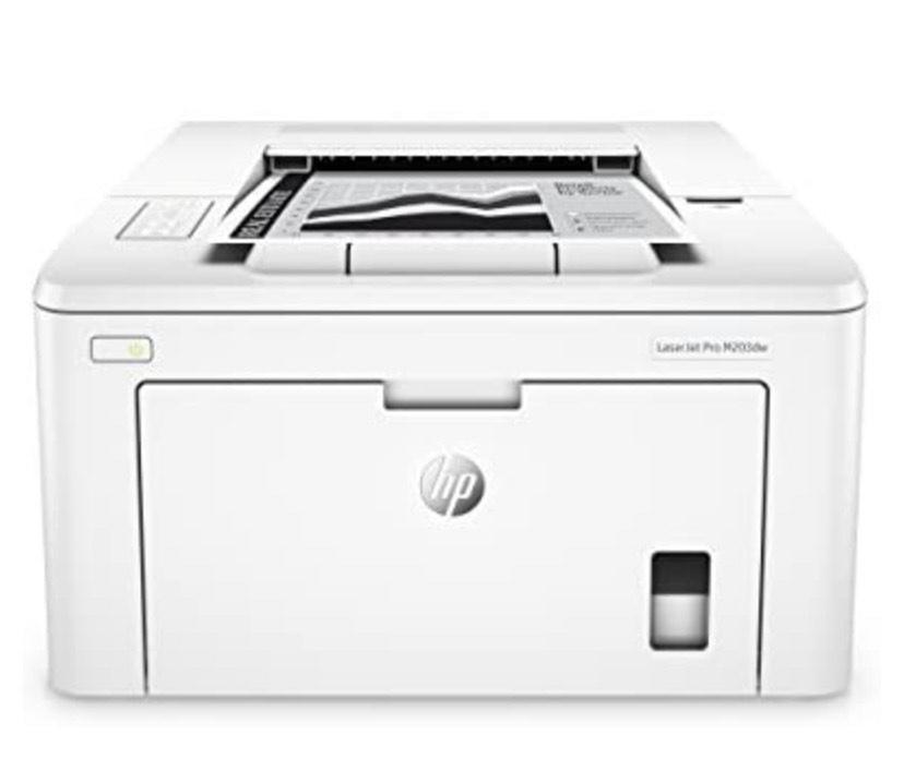 HP LaserJet Pro M203dw - Impresora láser monocromo, Wi-Fi, Ethernet (G3Q47A)