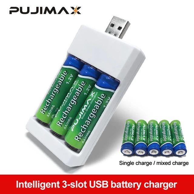 Cargador de pilas USB por 0,78€