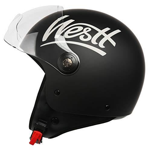 Casco de Moto Jet Abierto Westt Classic
