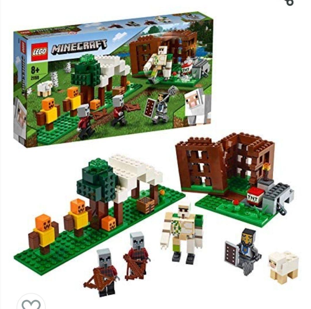 LEGO Minecraft - El Puesto de Saqueadores