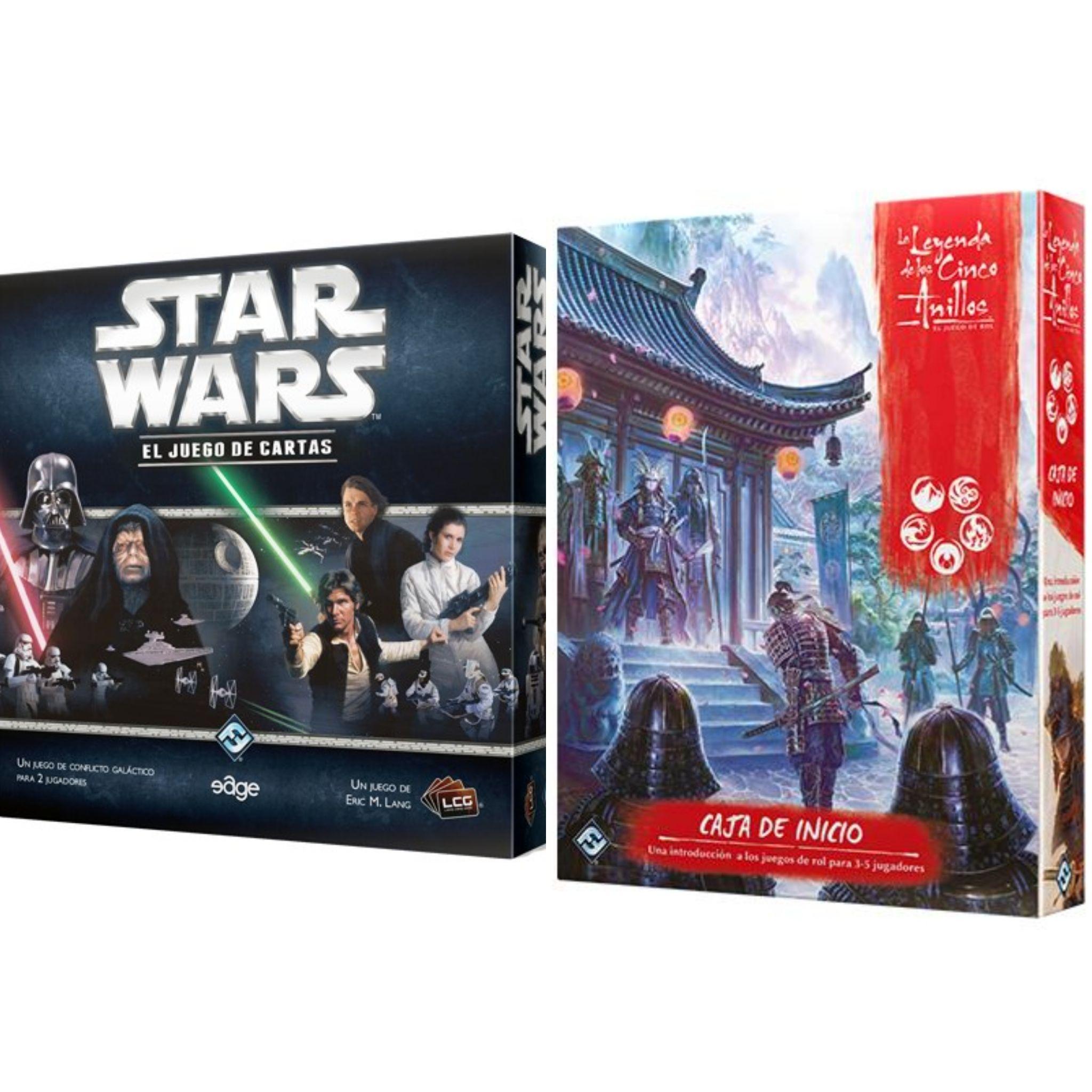 Pack Star Wars LCG + Leyenda de los Cinco Anillos
