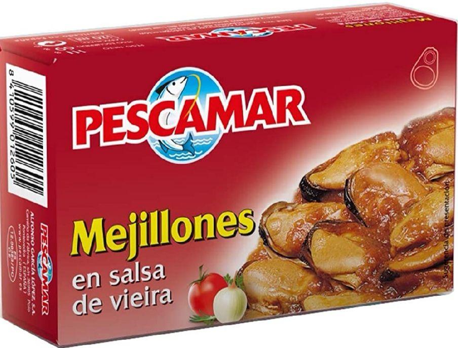 Mejillones En Salsa De Vieira En Lata.