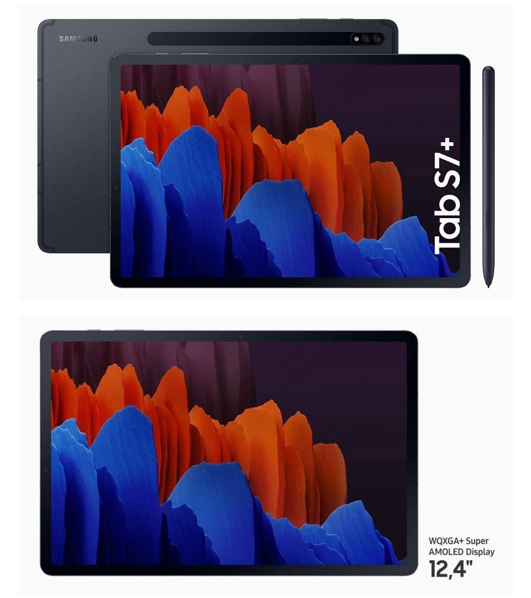 Samsung Galaxy Tab S7+ 128Gb color negro