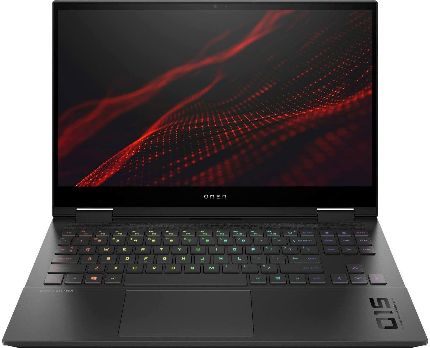 "Portátil HP OMEN 15.6"" FullHD IPS 300Hz (i7-10750H, 16GB RAM, 1TB SSD, RTX2070, sin sistema operativo)"