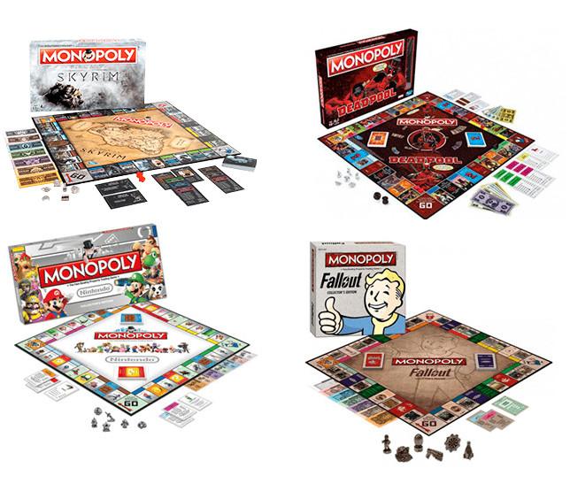 Monopolys de The Elder Scrolls V: Skyrym, Deadpool, Fallout y Nintendo con grandes descuentos en GAME