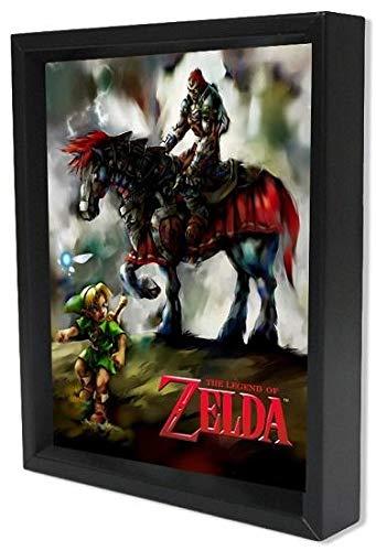 Poster 3D The Legend Of Zelda