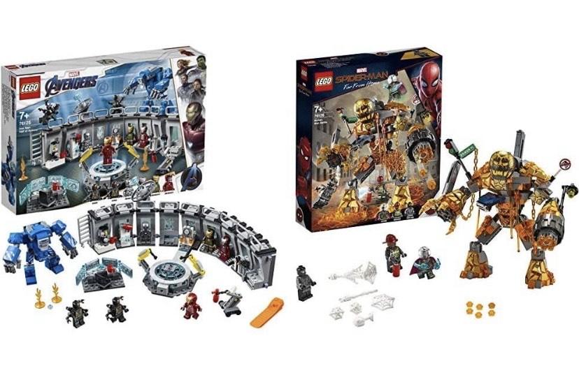 LEGO Super Heroes - Iron Man: Sala de Armaduras + Marvel Super Heroes - Batalla contra Molten Man