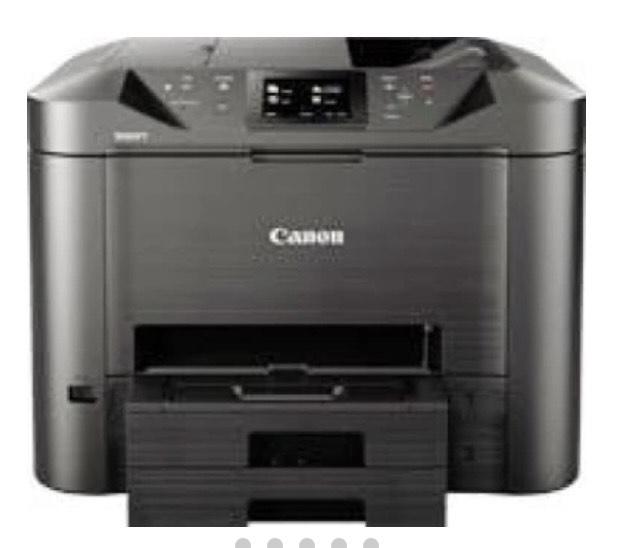 Canon MAXIFY MB5455 Inyección de tinta 600 x 1200 DPI A4 Wifi