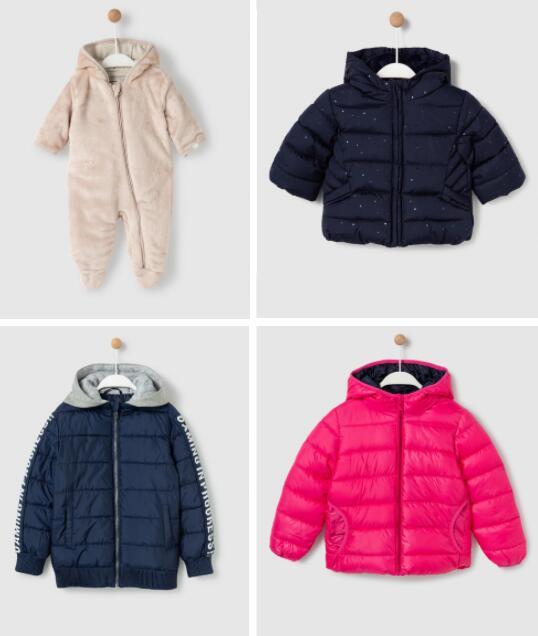 Hasta 60% de descuento en abrigos para niñ@s y bebes
