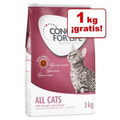 2 kg + 1 kg ¡gratis! + 10% de descuento en la marca Concept for Life