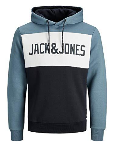 Jack & Jones Jjelogo Blocking Sweat Hood STS Sudadera con Capucha para Hombre talla M