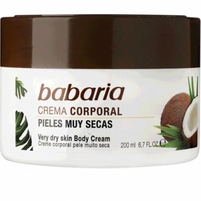Babaria crema corporal de coco 200ml