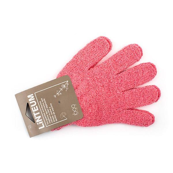 Guantes Exfoliantes Rosas, 1UD Pack 2 guantes exfoliantes corporales