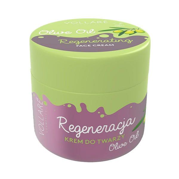 Crema Facial Regeneradora con aceite de oliva, 50ml