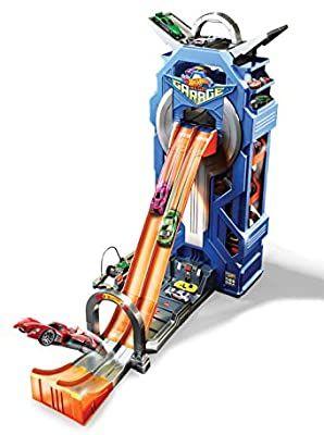 Hot Wheels - Supergaraje, garaje para coches de juguete (Mattel GWT34)