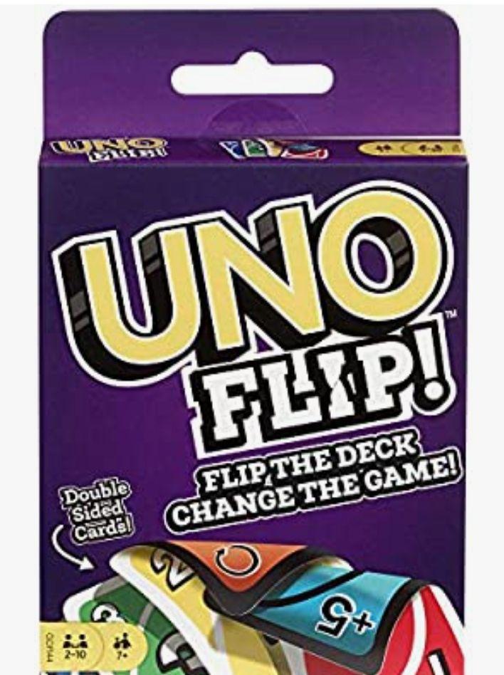 Mattel Games UNO Flip Juegos de cartas