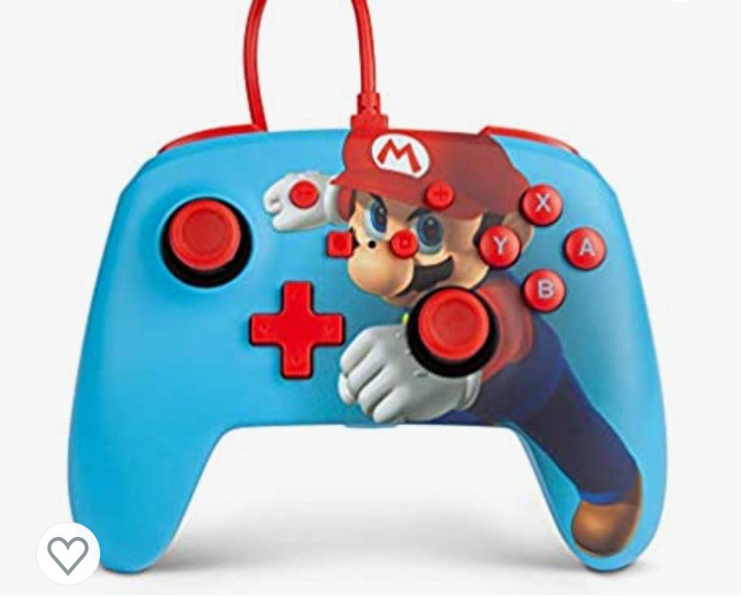 Mando con Cable Mejorado Powera Para Nintendo Switch. Varios modelos