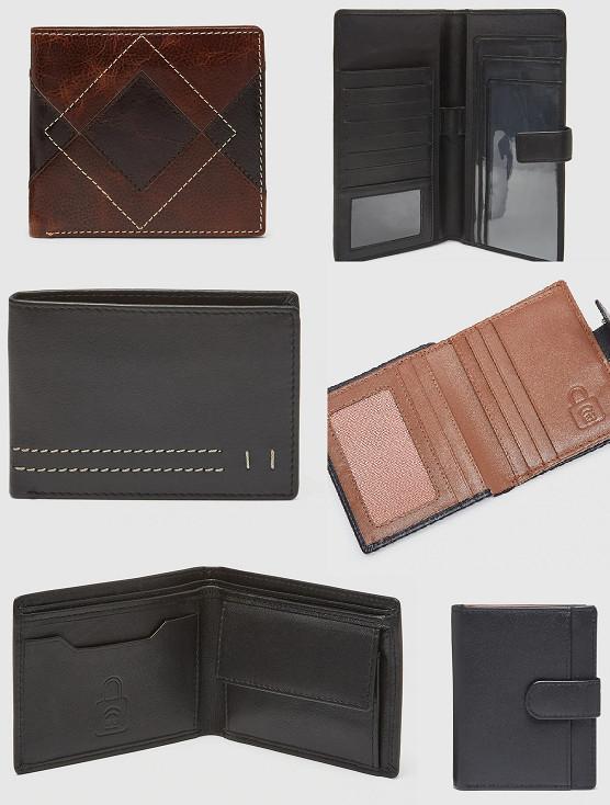 Recopilación de carteras de piel y protección RFID para hombre por menos de 8€ (12 modelos). También de viaje.