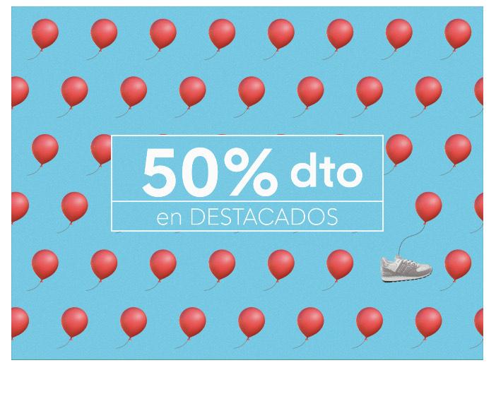 Destacados WALLAPOP al 50%