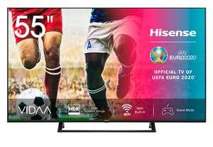 """TV Hisense 55"""" 4K UHD, Smart TV HDR 10+ con Alexa incorporado"""