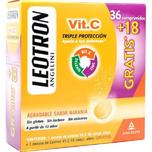 Leotron Vitamina C - 54 comprimidos
