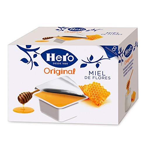 Hero Porciones de Confitura Miel - Paquete de 48 x 25g