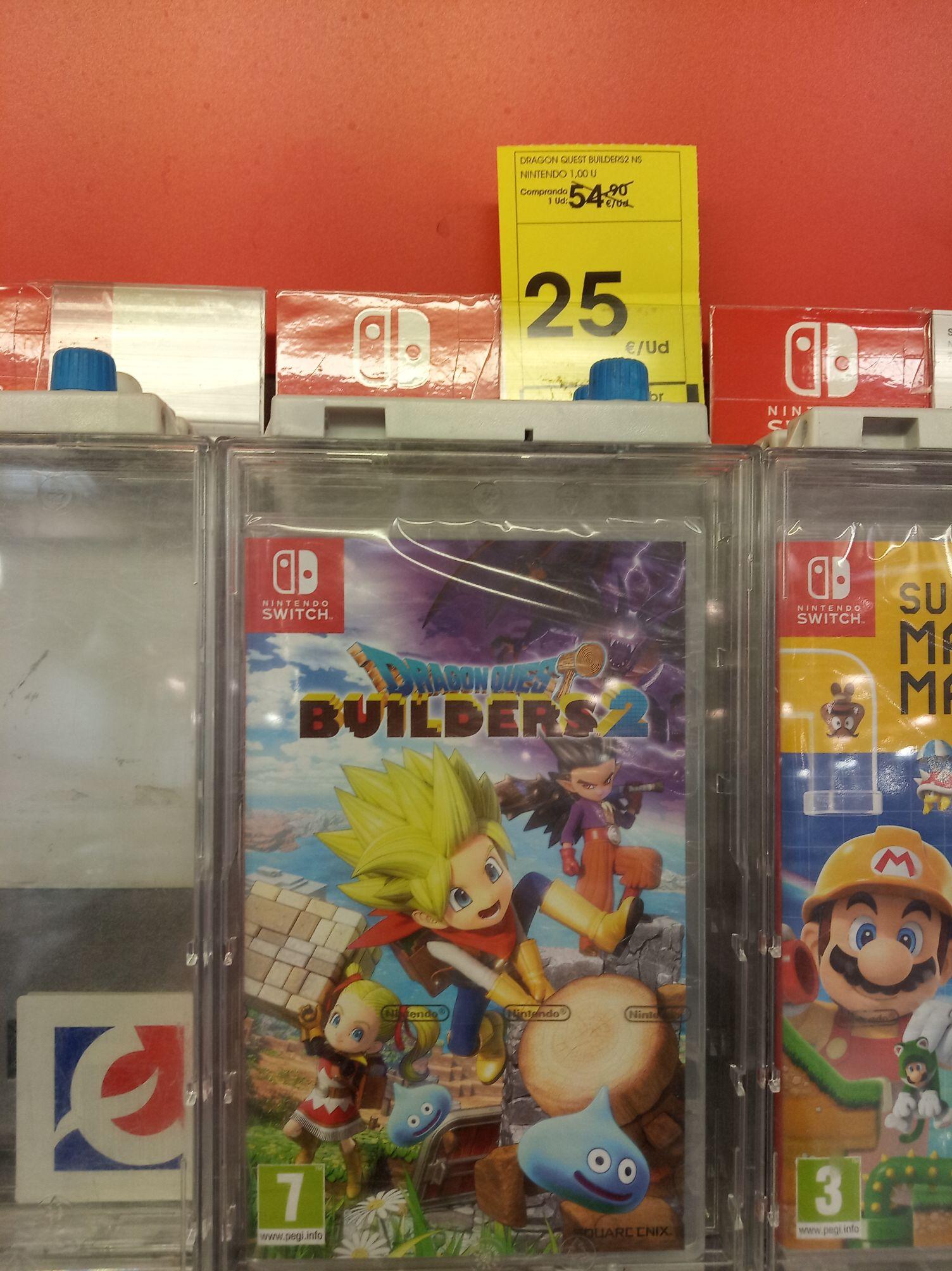 Dragon Quest Builders 2 Switch Eroski