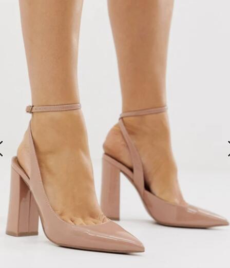 Zapatos de tacón alto ASOS talla 36