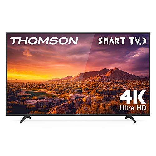 "TV LED 65"" THOMSON 65UG6300 Smart TV 4K UHD, Dolby Audio, Compatible con Alexa"
