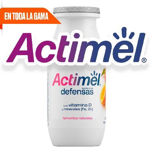 Toda la gama Actimel