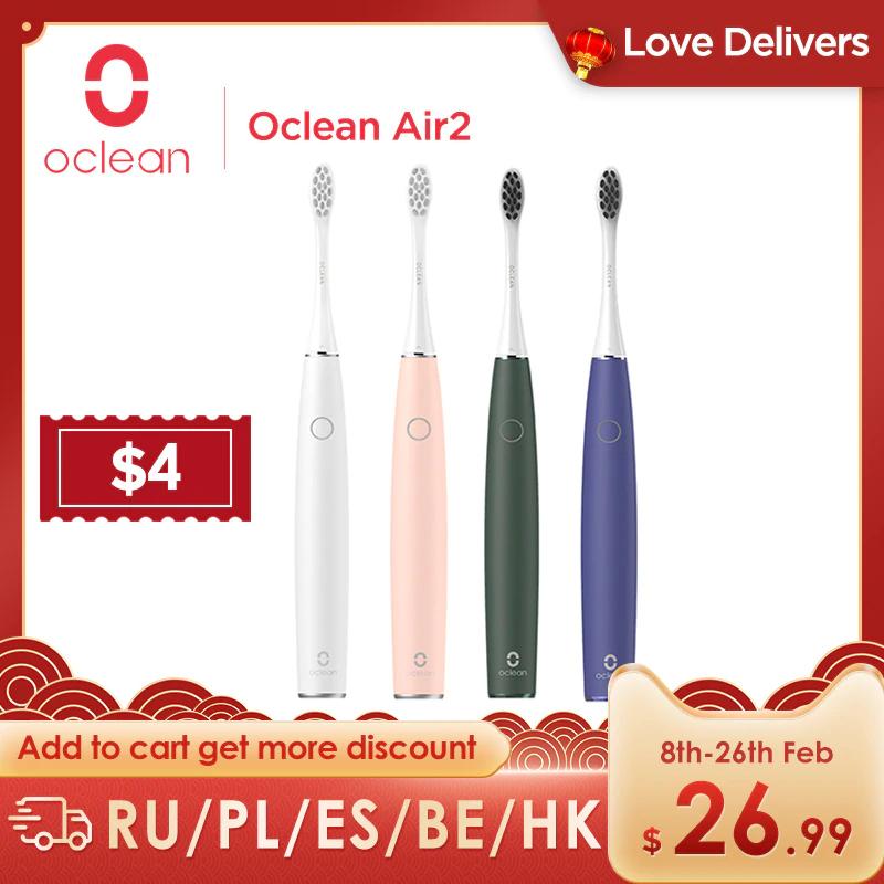 Cepillo de dientes sónico Oclean