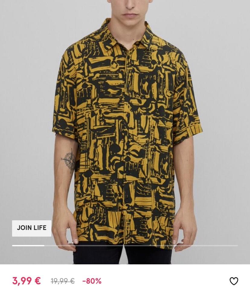 Camisas manga corta 3,99€