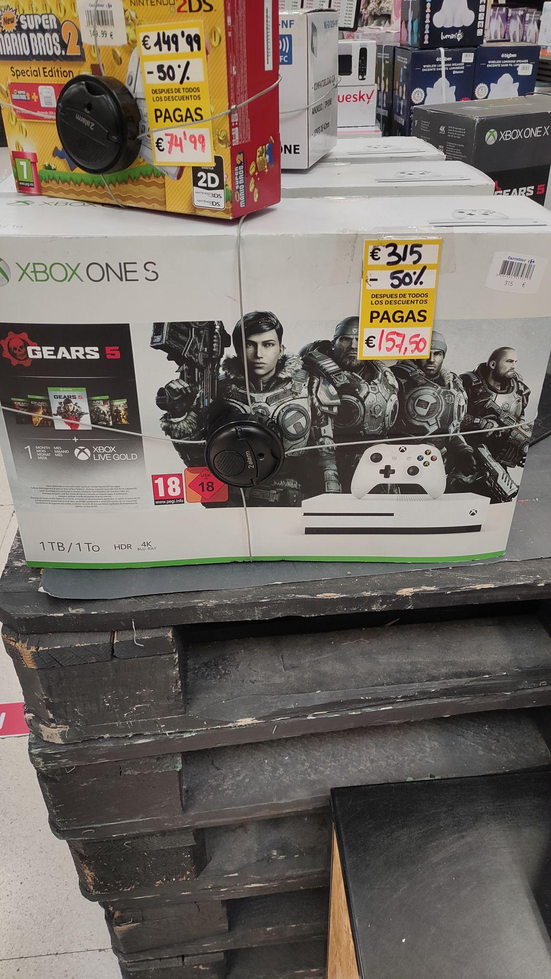 Xbox One S - Carrefour Zaragoza