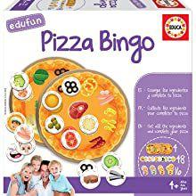 Pizza Bingo Juego de Cartas para niños