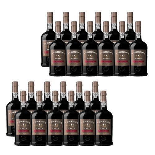24 botellas de vino de Oporto