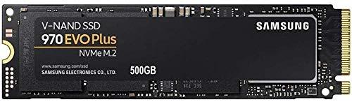 "Samsung MZ-V7S500BW 970 EVO Plus - Unidad SSD, 500 GB, M.2, NVMe, tamaño 2.5 "", Interfaz SATA 6 GB/s"